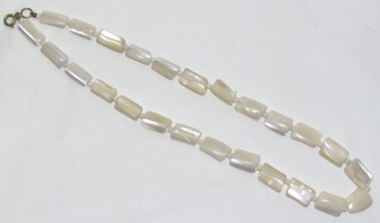 Main photo for 1930's Mother O Pearl Necklace