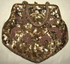 Photo for Art Deco Sequinned Evening Bag