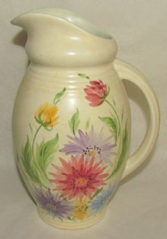 Photo for Edward Radford Art Deco Hand Painted Jug 32L