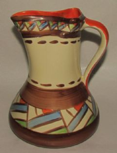 Photo 1 for Myott Art Deco Handpainted Jug