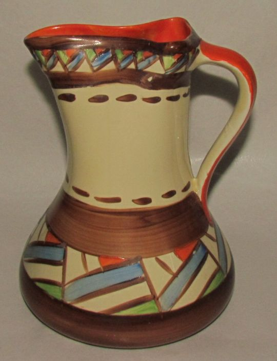 Main photo for Myott Art Deco Handpainted Jug