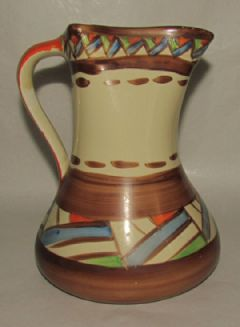 Photo 2 for Myott Art Deco Handpainted Jug