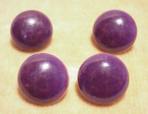 Main photo for Ruskin Purple Souffle Glazed Ceramic Buttons