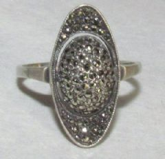 Photo for SILVER & MARCASITE RING